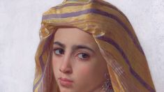 William-Adolphe Bouguereau, Girl with a Pomegranate (detail), 1875 William Adolphe Bouguereau, Dreadlocks, Hair Styles, Artist, Pomegranate, Beauty, Paintings, Detail, Ideas