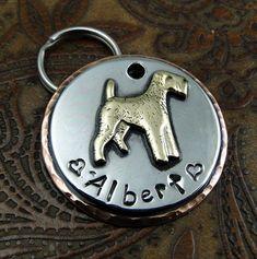 Terrier Custom Dog ID tag by IslandTopCustomTags