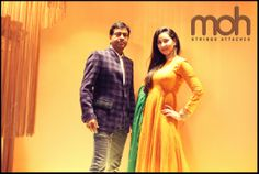 Multi - Designer Pret #Collection for both men and women only @ moh #Ahmedabad — with GD Agrawal and Kasish Khan.
