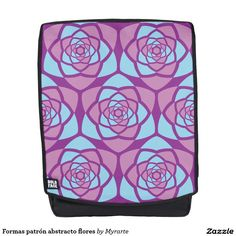 Formas patrón abstracto flores. Producto disponible en tienda Zazzle. Accesorios, moda. Product available in Zazzle store. Fashion Accessories. Regalos, Gifts. Link to product: http://www.zazzle.com/formas_patron_abstracto_flores_backpack-256353090664961690?CMPN=shareicon&lang=en&social=true&rf=238167879144476949 #mochila #backpack #flores #flowers