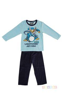 Pyjama Garçon Skylanders Turbo Jet-Vac https://twitter.com/Tolukicom #enfant #pyjama