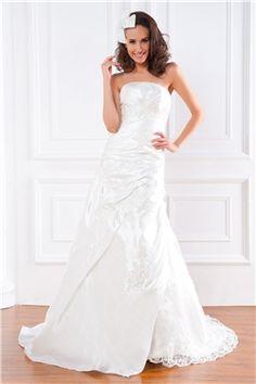 Lace-up Appliques Sheath/Column Floor-Length Sleeveless Garden/Outdoor Winter Court Wedding Dress