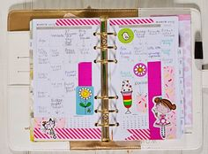 How I am using the monthly pages...