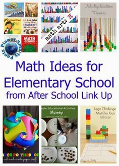 Spring Math Ideas for Elementary School from planetsmarty.com