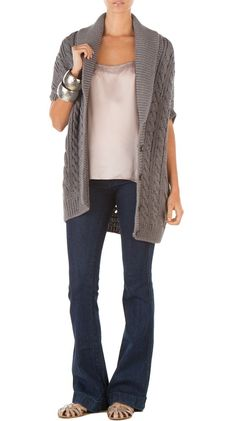 Petra Cardi in Carbon. love this whole outfit!