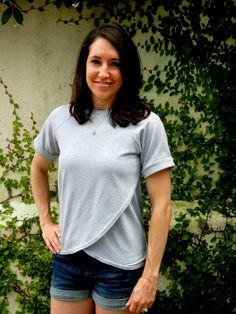 Tulip Top by Blank Slate Patterns sewn by Sew Charleston