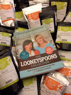 Sarah Newman is elated that her order arrived, carrying the Loonyspoons Collection cookbook!