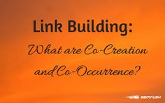Link Building: What are Co-citation and Co-occurrence?   However, when users started manipulating the system and using bad link building practices, Google was challenged to remove these websites as spam. Since then, Google has experimented and launched several updates like EMD, PMD, LSI, Penguin,and Panda with anti-spam algorithms. They even began ranking sites without backlink relevance, which Matt Cutts said caused much worse results.   #AdvancedKeyword #Tips #Seo #Cooccurrence…