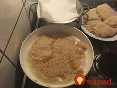 Perfektný zlepšovák na prípravu rezňov: Stačí pridať do strúhanky túto surovinu a budú omnoho lepšie! Hummus, Pancakes, Breakfast, Ethnic Recipes, Food, Homemade Hummus, Morning Coffee, Crepes, Pancake