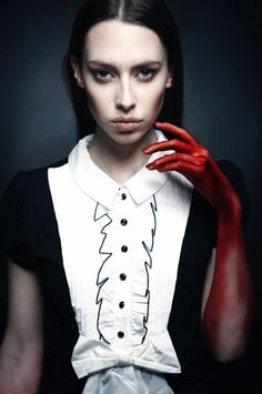 WRATH Photo: Aiste Ginaityte Model: Viktorija Michailova Style: Justina Semčenkaitė Make up: Kristina Vaskela / meduza photography / dark / fashion / beauty /