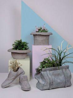 Inspire-se no seu guarda-roupa e deixe o seu jardim bem criativo