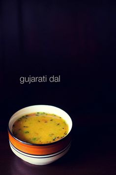 gujarati dal recipe with step by step photos. this gujarati dal recipe is easy to prepare. consistency of dal is thin and has mild sweet sour taste. Gujarati Cuisine, Gujarati Recipes, Indian Food Recipes, Gujarati Food, Rajasthani Recipes, Lentil Recipes, Curry Recipes, Vegetarian Recipes, Vegan Vegetarian