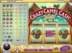Play free slots like the Crazy Camel Cash slot instantly at http://www.CasinoGames.com. The Casino Games site offers free casino games, casino game reviews and free casino bonuses for 100's of online casino games. Find the newest free slots at Casinogames.com.
