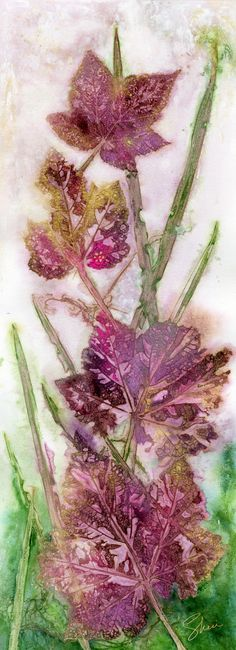 Artist Sheri Trepina is a water-media collage artist. She paints colorful works with texture, inspired by nature. She paints from her studios in Washington state and Montana.