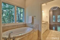 Can you picture yourself relaxing in 50005 Brogden's bath after a long day?  #GovernorsClubRealty #ChapelHillRealEstate #GovernorsClub