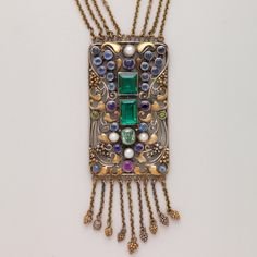 Necklace was handmade by Frank Gardner Hale (1876-1945)