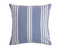 Cojín de algodón, azul Alessia - 45x45 cm