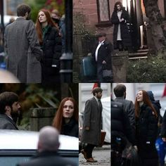 #outlander shooting actually in #Glasgow #outlanderseason3 #sophieskelton #brianna #richardrankin #rogerwakefield #caitrionabalfe #clairefraser #clairerandall #starz #1968 #voyager #levoyage #dianagabaldon
