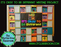 """Today's lesson combined anti-bullying, Martin Luther King and our celebration of diversity, computer skills and writing. If you are interested in the pages, I just uploaded them and you can get the packet here.We kicked off our biography unit with a study of Martin Luther King Jr. yesterday. I used Todd Parr's """"It's OK to Be Different""""..."""
