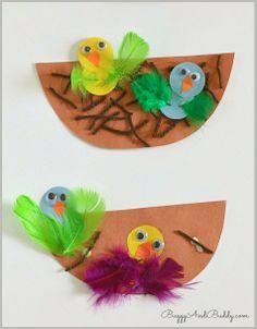 Sempre criança:        http://buggyandbuddy.com/spring-crafts-kids...
