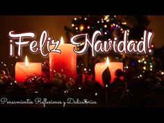 Merry Christmas In Spanish, Birthday Candles, Neon Signs, Videos, Youtube, Short Christmas Quotes, Christmas Scene Setters, Cute Good Morning Messages, Merry Christmas