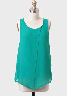 Water Lily Draped Tank at #Ruche @shopruche