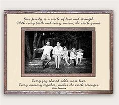 "Handcrafted of glass and antiqued copper, whimsical calligraphy is composed on a natural background. The back of each photo frame reads ""Handcrafted with antiqued cop. Great Mothers Day Gifts, Mother Day Gifts, Gifts For Mom, Family Picture Frames, Family Pictures, Glass Photo Frames, Copper Glass, Natural Background, Perfect Mother's Day Gift"