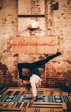 Free People + candlelit yoga at @greenbldgnyc — @unionxbond