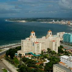 Hotel National, Havana, Cuba. It used to be run by the mob, and it's where all the famous people came to gamble during prohibition.