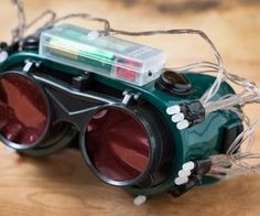 How to Make Cheap Thermal Goggles