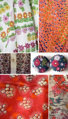 Street Patterns: Naive Florals