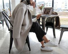 Neutrals | Adidas Stan Smith | Casual dressing | Harper and Harley