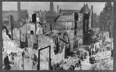 1940 - Bombs on Rotterdam Rotterdam, World War Ii, Ww2, Netherlands, Holland, History, Architecture, City, Pictures
