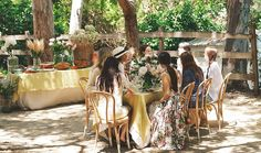 How Two L.A. It Girls Throw a Gorgeous Garden Party