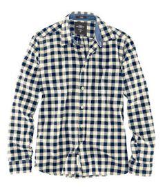 Dark Blue Gingham shirt- long sleeved 898c4b6787