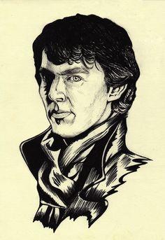 Sherlock Holmes draw (Benedict Cumberbatch)