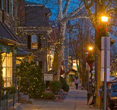 Chestnut Hill area of Philadelphia, PA