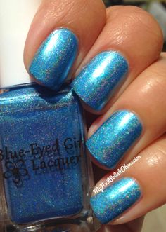 My Nail Polish Obsession: Blue Eyed Girl Lacquer Far From The Sun Summer 2104 Collection