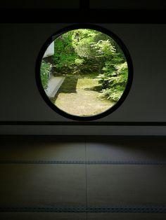 Genkoan in Kyoto, Japan - #window