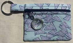 Office Shenanigans - coin purse with zipper and zipper pull by SewfullyAwesome on Etsy