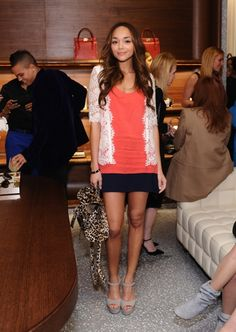 Ashley Madekwe stylish outfit