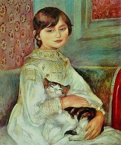 Pierre-Auguste Renoir, 1887, Portrait de Julie