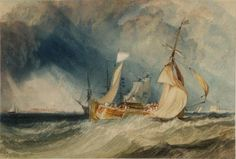 Joseph Mallord William Turner 'The Mouth of the River Humber', c.1824–5 So, You have made your brilliant Turner board in less than five minutes. Congratulations !