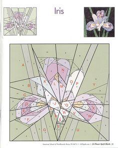 24 flower quilt blocks 25   Edyleide Ramirez   Flickr