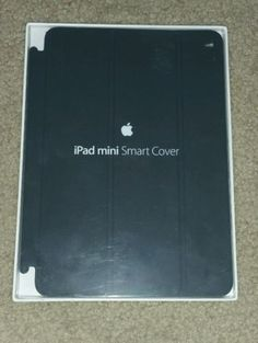 New Apple Ipad Mini Smart Cover Black Genuine Original