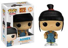 Buy Despicable Me 2 Agnes Funko Pop! Vinyl from Pop In A Box US, the Funko Pop Vinyl shop and home of pop subscriptions. Disney Pop, Disney Pixar, Funk Pop, Funko Pop Dolls, Funko Toys, Pop Vinyl Figures, Toy Art, Pop Minion, Pop Figurine