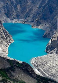 At tabard Lake, Pakistan.