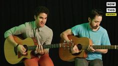 Darren Criss from Glee started a band with his brother called Computer Games turn up your volume #news #alternativenews