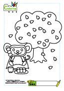 More coloring sheets【こどもぬりえ】お花見でおだんご Charlie Brown, Peanuts Comics, Fictional Characters, Fantasy Characters
