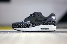 Nike Wmns Air Max 1 Print Dark Grey - 528898-001